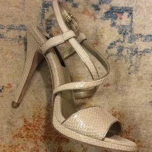 EUC WHBM strapping heels